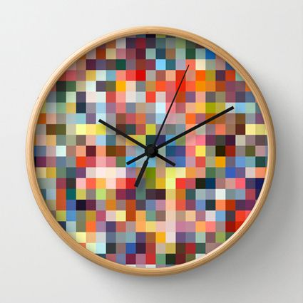 Sprinkles Wall Clock | Felt