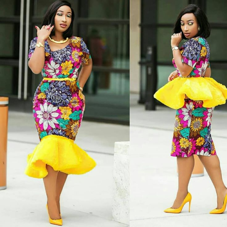 sexy ankara styles for beautiful curvy ladies, ankara styles for sexy figure ladies of 2018