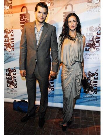 Demi Moore, grecian Lanvin gown