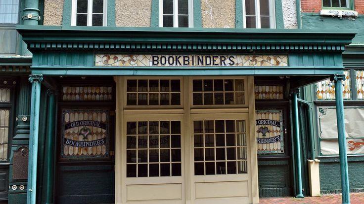 Jose Garces Resurrected Old Original Bookbinder's as The Olde Bar