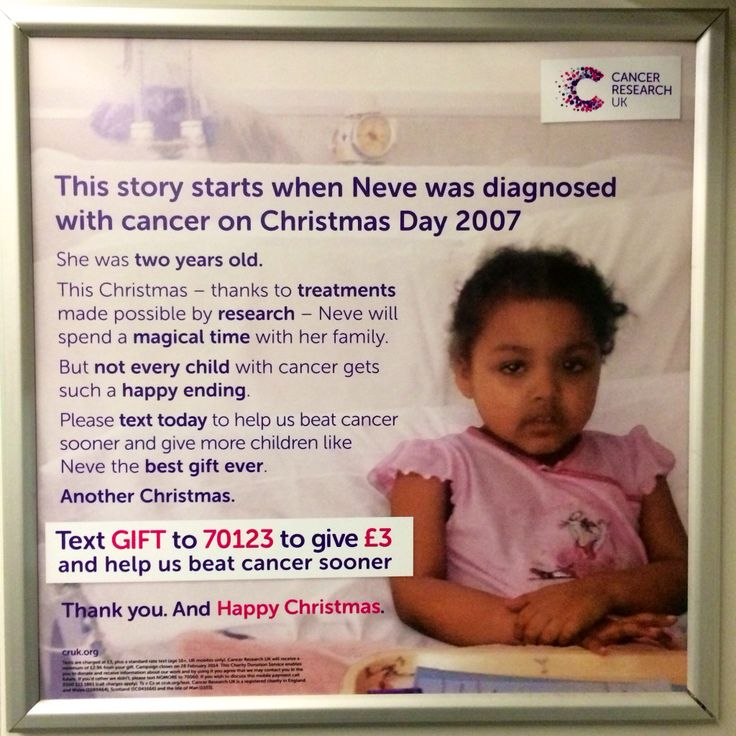 This is an advert for the massive charity Cancer Research UK. We have noticed they go for lots of different approaches and styles to the many ads they deploy. This is one on a London train from December 2013. #cancerresearchuk #cruk #charity #advert #christmas #cancer #research