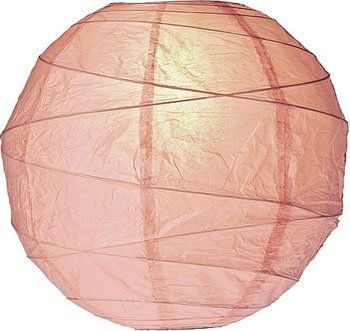 """Nude 10 Inch Round Premium Paper Lantern by Luna Bazaar. $3.95. This """"Premium"""" paper lantern is made with the finest quality rice paper and features our freestyle bamboo ribbing. This lantern also includes a versatile expander which clips directly onto a light bulb! Please note that the """"No Frills"""" colors do not match our """"Premium"""" lantern colors although they may share the same color name. If you need truly matching colors please shop within one line or the other,..."""