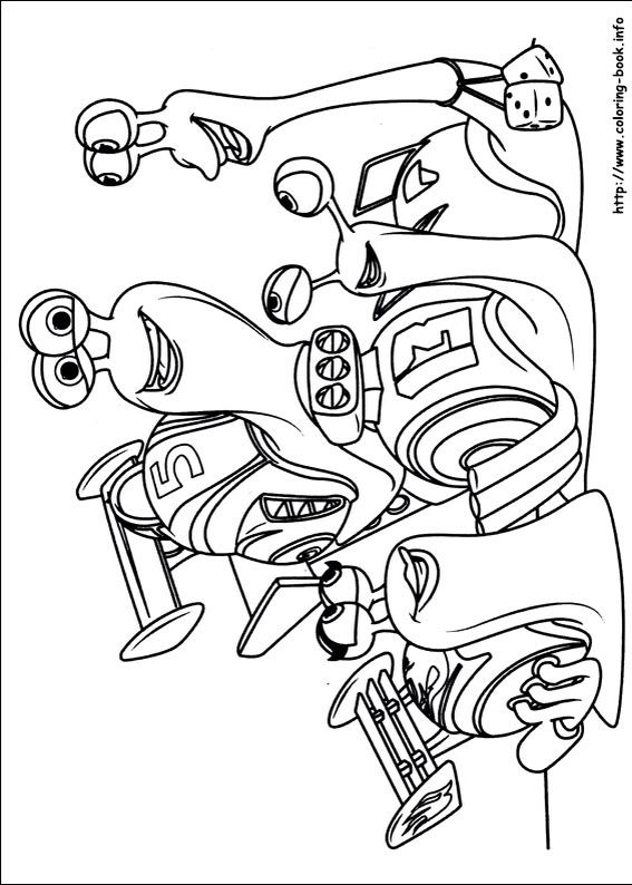 34 Turbo Printable Coloring Pages For Kids Find On Book Thousands Of