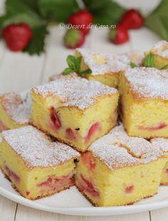 prajitura cu iaurt si capsuni reteta (2)