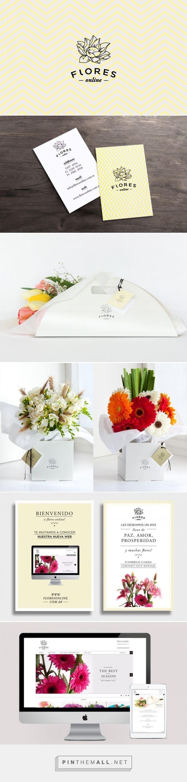Flores Online by Belen Peralta Ramos | Fivestar Branding – Design and Branding Agency & Inspiration Gallery