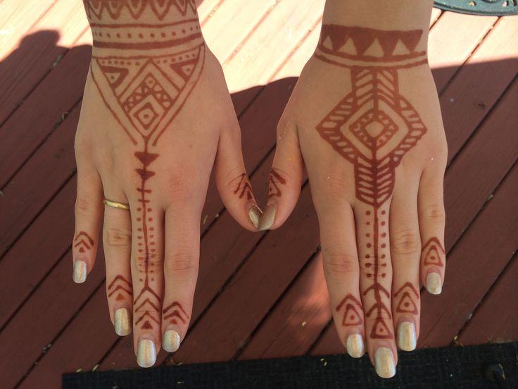 Tribal henna