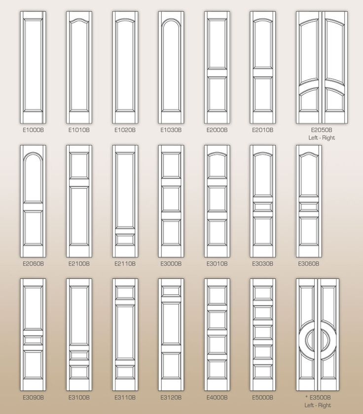 CUSTOM PAINT GRADE INTERIOR DOORS - by Doors for Builders, Inc.   Medium Density Fiberboard Interior Doors (MDF)