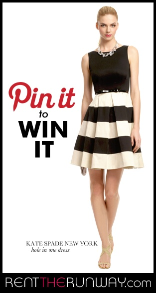 Wearing this dress this weekend and kind of excited! - REPIN IT TO WIN IT! Repin your favorite summer RTR Dress from our Repin it to Win it board and YOU could win a free dress rental of that style! bit.ly/Nrup4H