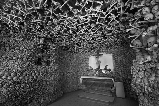 Cathedral of the Skulls, Czermna, Poland.