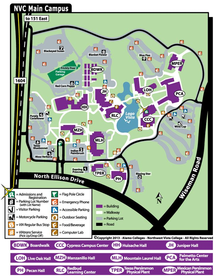 Northwest Vista Campus Map Northwest Vista College (northwestvista) on Pinterest