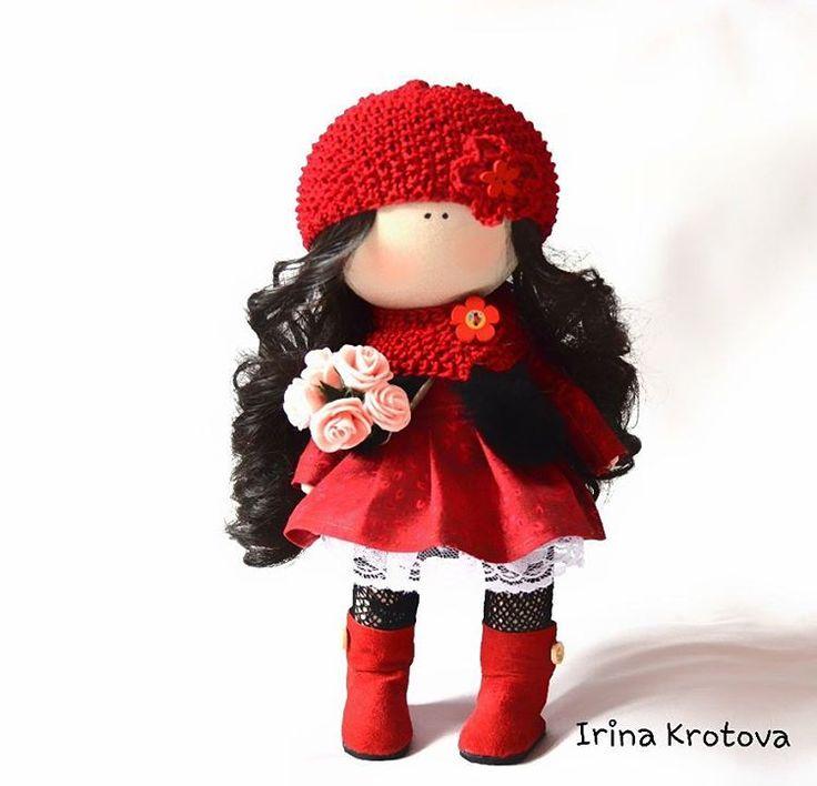 44 отметок «Нравится», 5 комментариев — Интерьерные куклы из текстиля (@irruussik) в Instagram: «Куколка уже дома. Рост 34 см По вопросам приобретения кукол пишите в директ, WhatsApp, Viber +…»