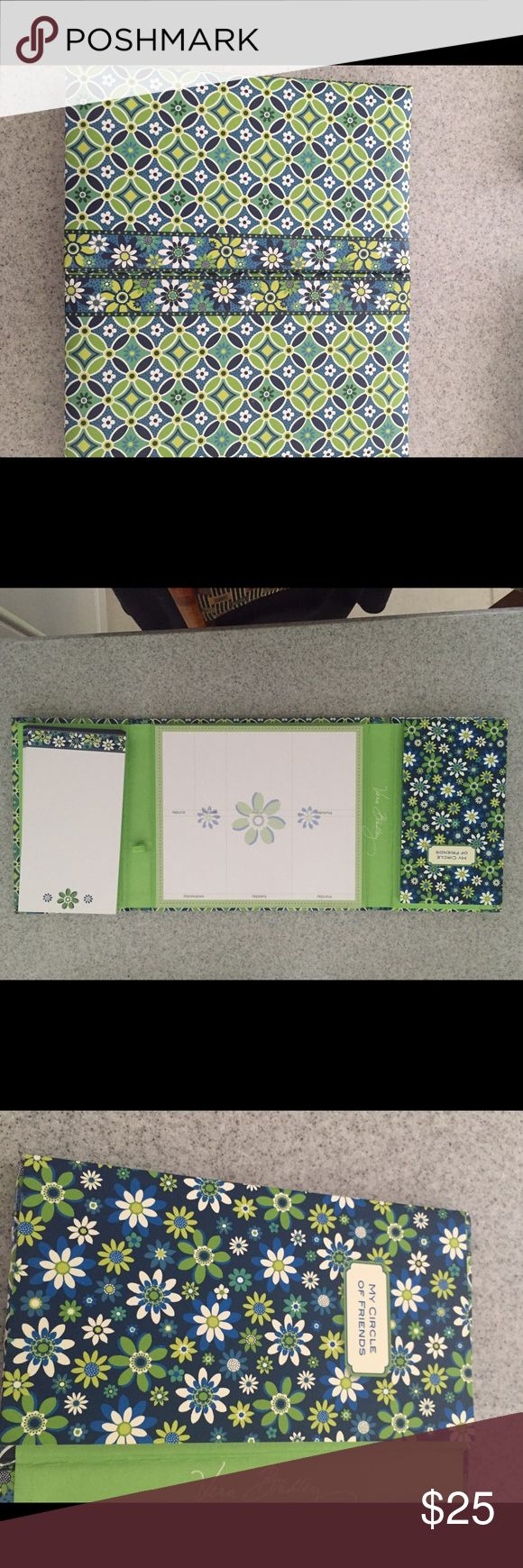 Vera Bradley planner Brand new Vera Bradley planner. Complete with notepad, weekly calendar, and address book. Offers welcome Vera Bradley Accessories