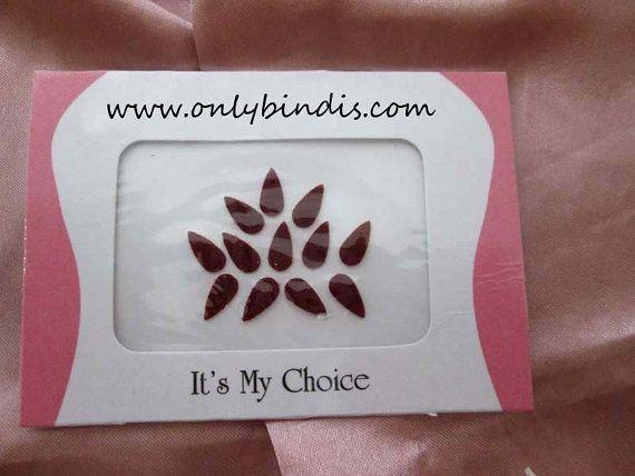 Big Tear Drop Bindi Shape  Traditional by BindiStoreUSACANADA