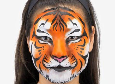face painting ideas | Extreme Face Painting Book Helps You Kick Your Kid's Halloween Costume ...