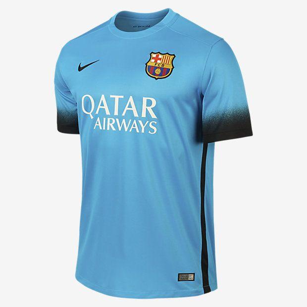 2015/16 FC Barcelona Night Rising Stadium Men's Soccer Jersey