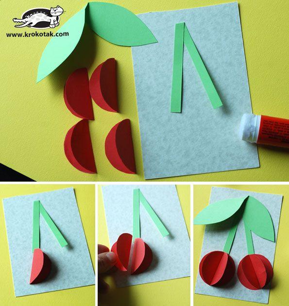 3D Paper Cherries