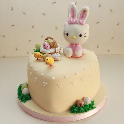 Hello Kitty Easter Cake