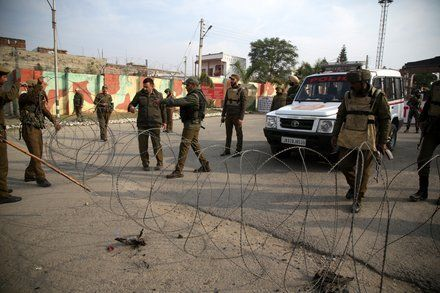 Militants Storm Indian Army Base Killing Soldiers and a Civilian