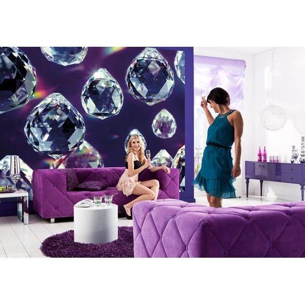 #fotomural crystals, #fotomurales  Komar. Diseños especiales www.decoracionesazuqueca.com