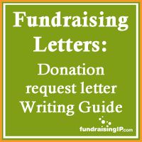 Donation request letter writing guide #fundraising