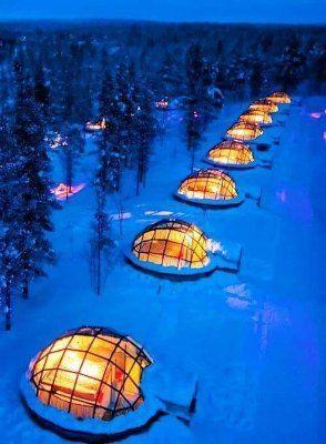 Glass Igloo, Finland