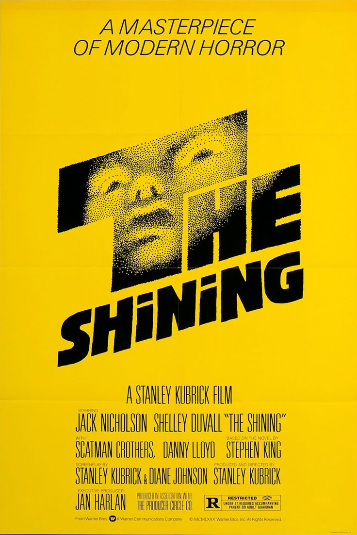 Poster design jpg - The Shining 1980 Psychological Horror Film Produced And Directed By Stanley Kubrick Co Written With Novelist Diane Johnson Based On The Novel Of The Same