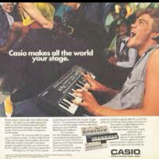 Casio Keyboard Campaign