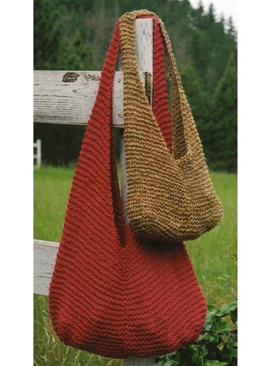 65 best Knitted Bags images on Pinterest | Knit bag, Crochet tote ...