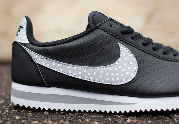 With all these polka dots showing up, why not take a second for the Nike WMNS Cortez Classic?