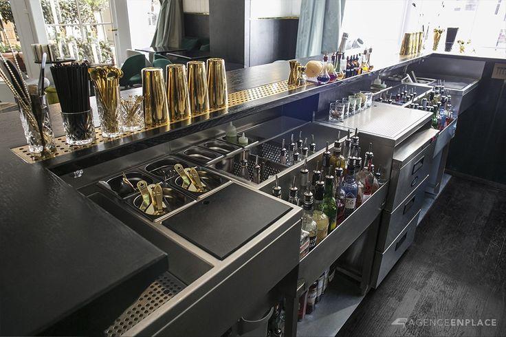 Danico - Cocktails bar layout designed by Agence En Place.