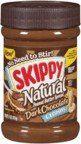 Skippy Natural Peanut Butter Spread Dark Chocolate Creamy - http://bestchocolateshop.com/skippy-natural-peanut-butter-spread-dark-chocolate-creamy/