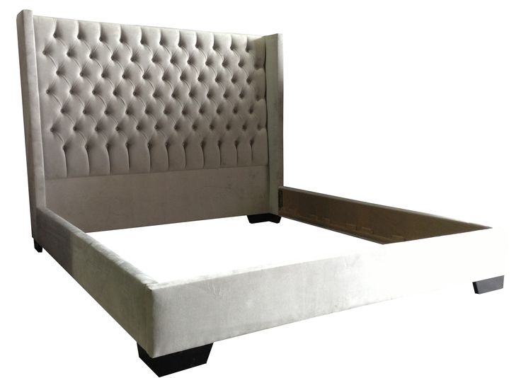 Beautiful Custom Upholstered Beds And Headboards Available In Over 100 Fabrics