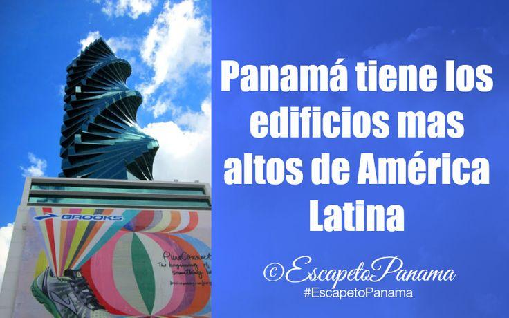 Panamá tiene los Edificios Mas Altos de América Latina #Panama - @HIMGPanama