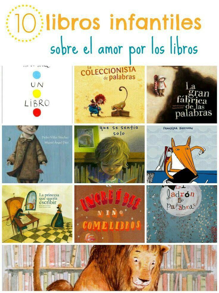 Cuentos infantiles sobre el amor por los libros