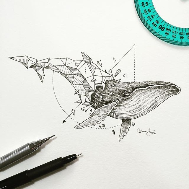 Geometric Beasts by Kerby Roasanes. instagram @kerbyrosanes