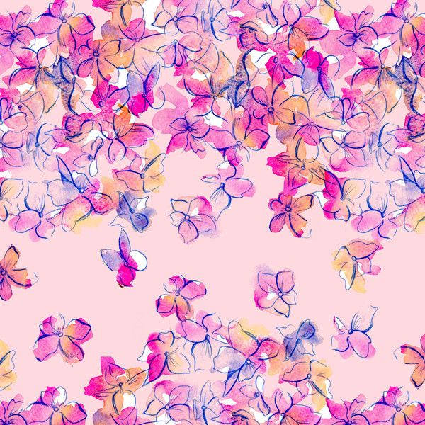 Watercolour Florals and Nature by Charis Harrison, via Behance