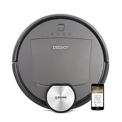 ﹩748.41. ECOVACS DEEBOT R95 Smart Robotic Vacuum Cleaner, Works with Alexa    UPC - 852186006716, EAN - 0852186006716, Binding - Kitchen, Color - Gray, Weight - 13.75 pounds, Dimensions - L 20.12 x W 16.81 x H 2.4 inches, Label - ECOVACS ROBOTICS, NumberOfItems - 1, PartNumber - DEEBOT R95, ProductGroup - Home, ReleaseDate - 2017-05-01, ISBN - Not Applicable