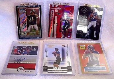 Derek Anderson RC 05 #ed Bowman Best,Limited Certified,Reflections Auto,Topps