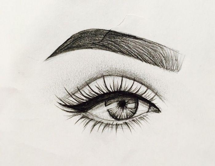 1001 + Ideen und Inspirationen, wie Sie Auge zeichnen in ...