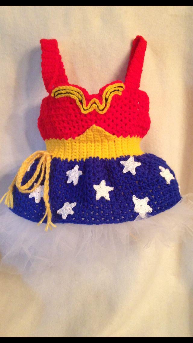 Wonder Woman 12 mo dress