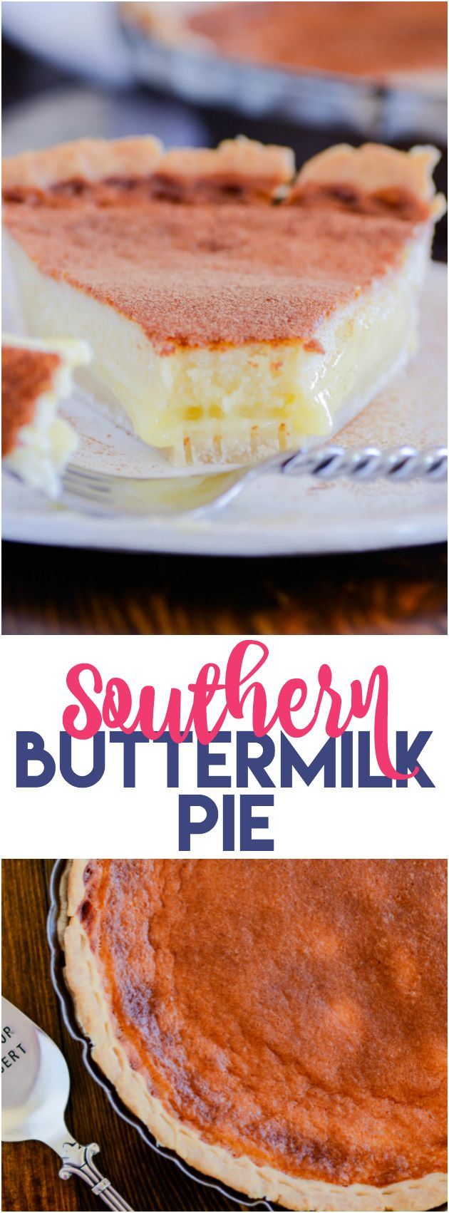 I've been dying to make this pie forever, and it did not disappoint! Creamy custard-y center baked into an all-butter homemade pie crust.