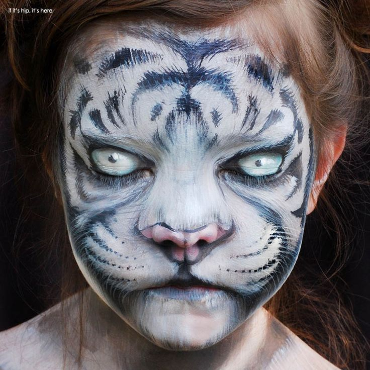 Inspiring Children's Makeup For Halloween. See more at http://www.ifitshipitshere.com/childrens-makeup-for-halloween/