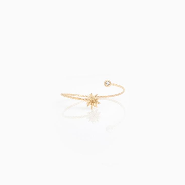 Twisted Star Burst Bracelet