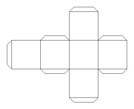 Solid Shapes And Their Nets Cube P6 Math Pinterest