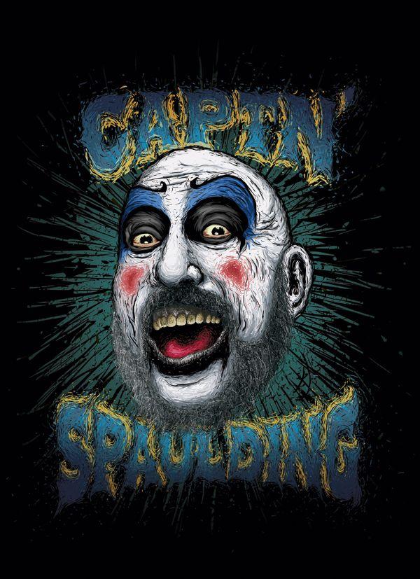 Captain Spaulding on Behance