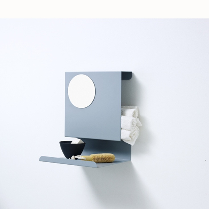 Ledge:able shelf performing in the bathroom when there is lack of space!
