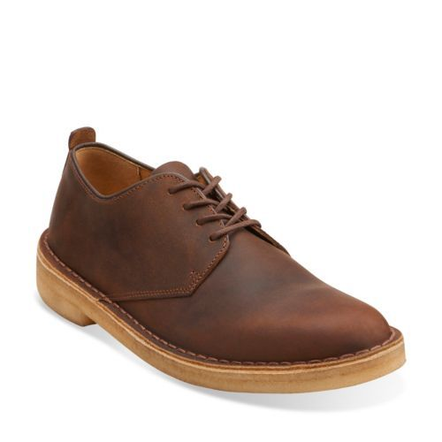 Gents White Shoes From Clarks