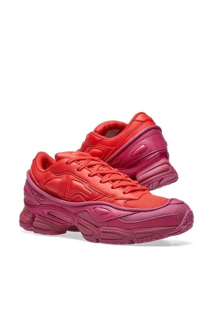 ae088a7324e50 Adidas X Raf Simons RS Ozweego III Red Pink FW18 Available now  fashion   clothing  shoes  accessories  mensshoes  athleticshoes  ad (ebay link)