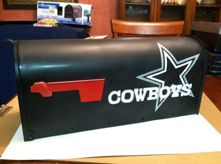 NFL Dallas Cowboys Hand Painted, for my other niece :)