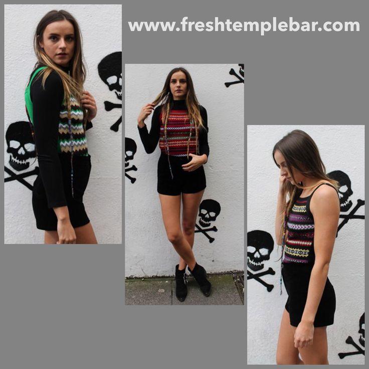 Shop in store or online  www.freshtemplebar.com or ASOS Marketplace @freshtemplebar